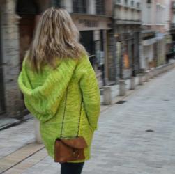 """Le manteau """"Canopée"""" vue dos"""