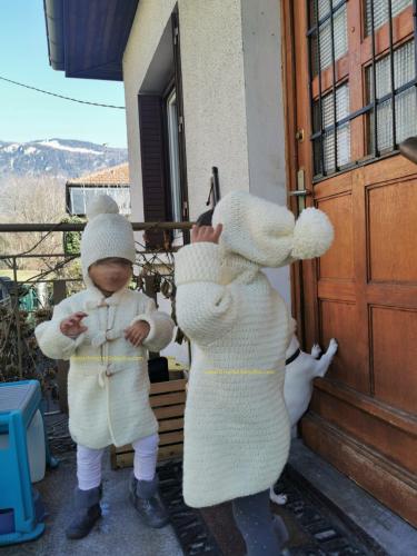 Manteau enfant de Roxana Barbor